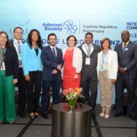 Equipo organizador del primer Diálogo por la Gobernanza de Internet en la República Dominicana