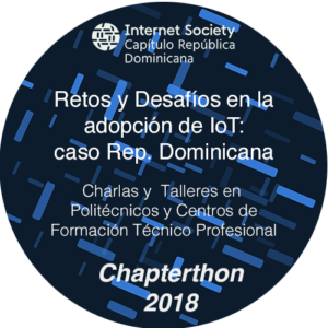 Chapterthon 2018 IoT in Dominican Republic