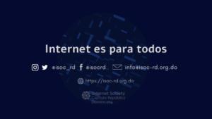 Capitulo Internet Society de la Rep. Dominicana