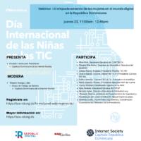 Webinar-panel : El empoderamiento de las mujeres en el mundo digital en la República Dominicana