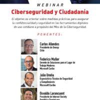 Webinar sobre Ciberseguridad Ciudadana en INTEC