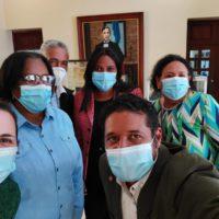 Visita de ISOCdo a AGN