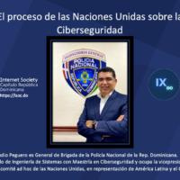 isoc.do - Webinar Ciberseguridad en la ONU