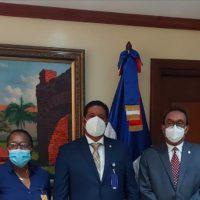 ISOCdo visita Cámara de Senadores de la R. D.