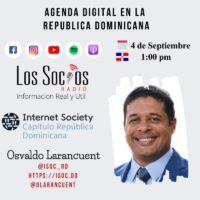 Programa radial Los Socios entrevista a Larancuent
