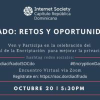 Global Encryption Day, internet society Republica Dominicana